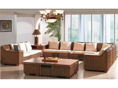 Indoor rattan living room furniture information & features Indoor rattan living room furniture name: New Time Living Room Cabined SeriesProduct dimension: Lounge: TW Sofa: TW Big Coffee Table: TW ABig Square Table: TW 804 Tuscan Living Rooms, Outdoor Living Rooms, Small Living Rooms, Living Room Sets, Living Room Furniture, Living Room Decor, Sofa Furniture, Sofa Design, Interior Design Living Room