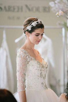 Sareh Nouri wedding dresses; photo: SY Photography