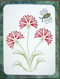 1000 Images About Stitched Cards On Pinterest  Paper
