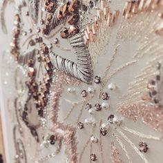 Details #lesage #embroidery #hautecouture #paris