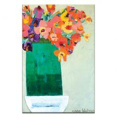 Green Vase by Anna Blatman   Artist Lane
