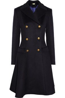 Issa Wool & Cashmere Blend Coat ...would never go out of style <3