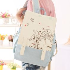 Effortlessly Make Your Handbags Complement Your Outfit Every Single Time - Best Fashion Tips Leather Backpacks For Girls, Girl Backpacks, School Backpacks, Canvas Backpack, Backpack Bags, Totoro Backpack, Messenger Bags, Bags For Teens, Girls Bags