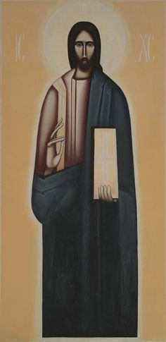 Contemporary icon of Christ