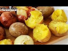 Düdüklü Tencerede Tuzda Soğan Patates - YouTube
