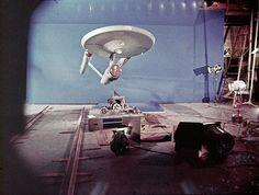 Pilot Enterprise Lower Saucer View with Blue Screen by birdofthegalaxy, via Flickr
