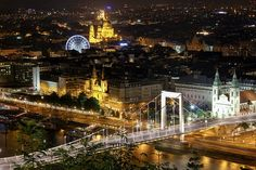 Budapest - view from the citadell 2014.07.07. 3 - the Elizabeth bridge