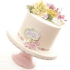 Olivia Christening by tortacouturecakes, via Flickr