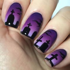 Rock halloween in the right way with these 20 awesome halloween nail art ideas