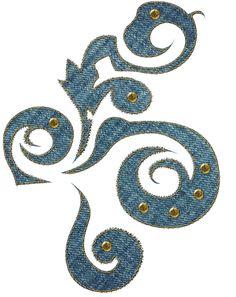denim swirl by Melissa-tm