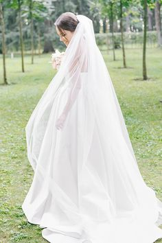 bridal veil фата невесты
