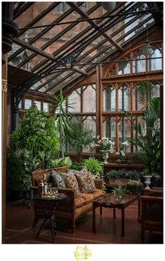 Greenhouse off the master bedroom at Mount Stuart Castle on the Isle of Bute Sco. Greenhouse off t Greenhouse Bar, Greenhouse Kitchen, Greenhouse Gardening, Exterior Design, Interior And Exterior, Future House, My House, Isle Of Bute, Deco Originale