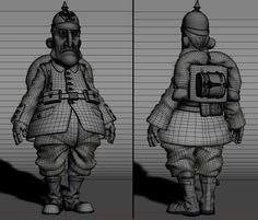 CGTalk - Little soldier, Alessandro Baldasseroni (3D)
