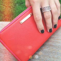 http://www.stelladot.com/sites/angelabudde  Laurel Ring with Tech Case in Poppy from Holiday 2012 Collection