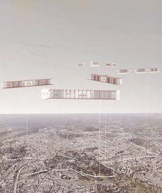Vita del Muro: Co-inhabiting the Aurelian Wall - KooZA/rch Challenge Images, Lund University, Umea, Timber Structure, Urban Fabric, Floor Layout, Social Housing, The Spectator, School Architecture