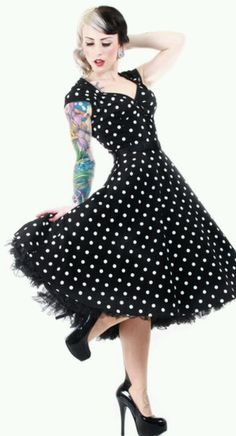 Pinup dress Possible Brides maid dress!