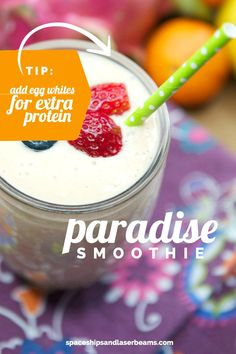 Paradise Smoothie Boy Birthday Parties, Smoothies, Paradise, Campaign, Banana, Drinks, Party, Free, Smoothie