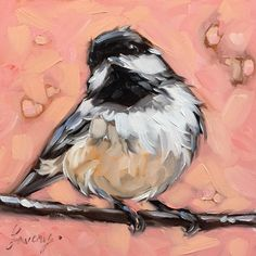Andrea Lavery - she paints just about the cutest little birds I have ever seen!