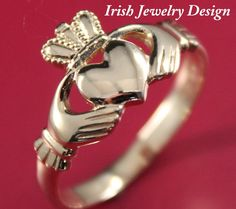 Claddagh rings. love the tradition