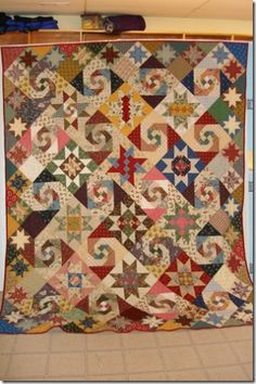 * Jamestown 2007 Block of the Month Quilt, based on a design by Judy Martin