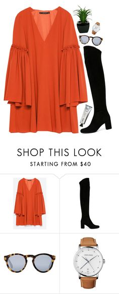 """Tango"" by simpleandyoung ❤ liked on Polyvore featuring Zara, Yves Saint Laurent, Illesteva, Georg Jensen and L:A Bruket"