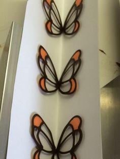 Schmetterling Kuvertüre Schokolade
