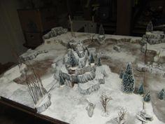 Board, Iceworld, Snow, Terrain