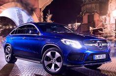 Briljantblauw of briljant in blauw? Mercedes-Benz GLC Coupé door Philipp Rupprecht.
