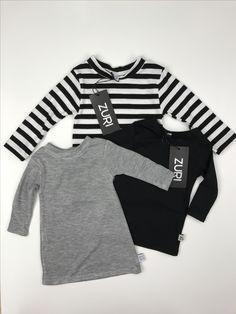 Zuri Baby Basics Long Sleeve Tee Neutral Baby Clothes Love