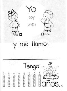 Menta Más Chocolate - RECURSOS PARA EDUCACIÓN INFANTIL: Actividad para trabajar la IDENTIDAD PERSONAL