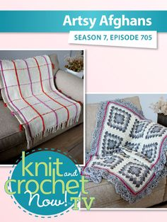 Knit and Crochet Now! Knit And Crochet Now, Sewing Patterns, Bead Kits, Knit In The Round, Season 7, Afghans, Baby Gifts, Crocheting, Ganchillo