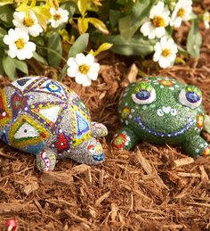 Paint-a-Rock Pet Kits with 6 Weather-Resistant Paints, Paintbrush and Instructions - HearthSong