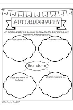 Autobiography of a Fifth Grader {A Memory Book Project