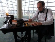 President Abraham Lincoln stopped by TCC Virginia Beach's Student Center this week. Learn the reason for his visit...