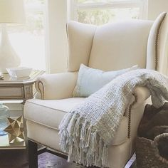 every room needs the perfect chair #mypotterybarn