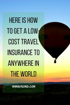 Let me help you find a low-cost travel insurance to anywhere in the world! I've been using these tricks or pointers to score an affordable insurance! Cheap Travel, Budget Travel, Travel Guides, Travel Tips, Best Travel Insurance, Health Insurance, Overseas Travel, Thailand Travel, Travel Essentials