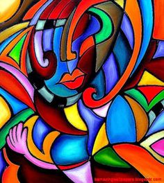 Abstract Picasso paintings