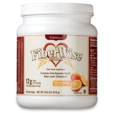 Fiber wise! I LOVE this stuff! Tastes great in smoothies!