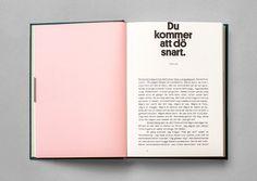 Kontroll - immortal book design for rising communication star Erik Modig Pub Design, Book Design, Cover Design, Album Design, Typography Layout, Graphic Design Typography, Graphic Artwork, Print Layout, Layout Design
