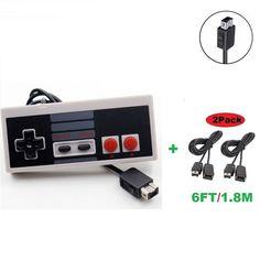 Nintendo NES Classic Edition Mini Console Controller+2X 6FT/1.8M Extension Cable #UnbrandedGeneric
