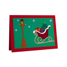 Handmade Christmas card made by applying multiple layers of cardboard. Handmade Christmas Gifts, Christmas Cards To Make, Christmas Greeting Cards, Christmas Greetings, Creative Art, Creative Design, Card Making, Kids Rugs, Layers