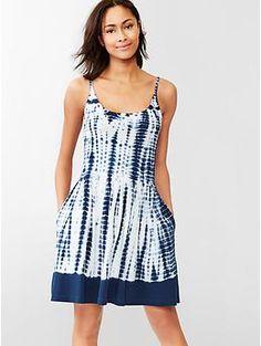 Tie-dye cami dress | Gap