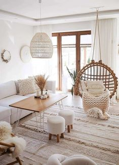 11 tips to bring bohemian style to your home - living room decor . - 11 tips to bring bohemian style to your home – Living room decor – 70 living room decorating id - Scandinavian Living, Decor, House Interior, Homedecor Living Room, Home Living Room, Living Room Scandinavian, Cheap Home Decor, Living Decor, Boho Living Room