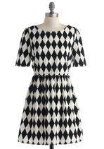 Live and Let Diamond Dress   Mod Retro Vintage Dresses   ModCloth.com