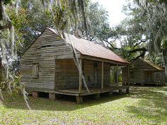 Evergreen Plantation, LA ~ slave quarters