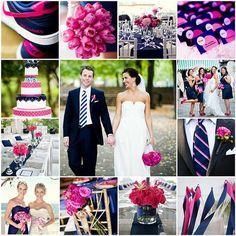 Need inspiration for flowers for a Fuschia/Navy Blue wedding please :) :  wedding bouqet fuschia navy summer 242842604876769598 MlxXo5KZ C