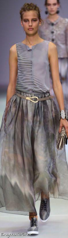 Giorgio Armani Spring Summer 2015 Ready-To-Wear