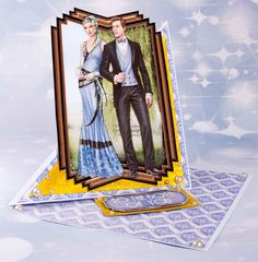Good afternoon     I have made some cards using the NEW DEBBI MOORE ART DECO ROMANCE.     These were on Create & craft this WEEK!!     ...