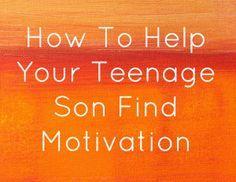 Motivating Teenage Boys to Find Vision & Purpose - Santa Rosa, Petaluma, Rohnert Park & Sonoma County