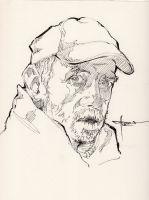 Ink-portrait-008 by mekhz